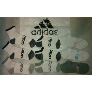 アディダス(adidas)の選ぶ一点 adidasアディダス♪ショートソックス 靴下23-25cm(ソックス)