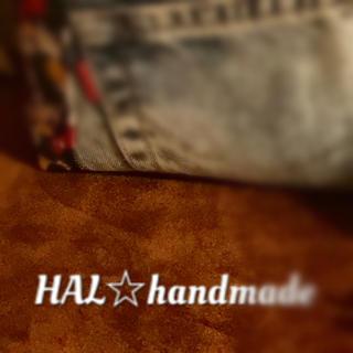 HANDMADE BAG👜andミニポーチset🎵(バッグ)