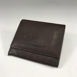 バーバリー(BURBERRY)の正規品 バーバリー ブラウン レザー コインケース EP7-60(コインケース/小銭入れ)