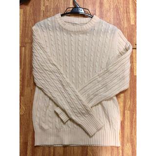 ジーユー(GU)のニット メンズ セーター ジーユー GU Sサイズ(ニット/セーター)