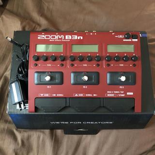 ズーム(Zoom)のzoom b3n ベース マルチエフェクター(ベースエフェクター)