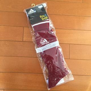 アディダス(adidas)のゆさん様専用【22-24cm・新品未開封】adidas  サッカー ソックス(ウェア)