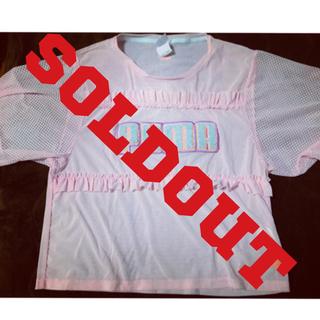 プーマ(PUMA)のPUMA×SOPHIA WEBSTAR トップス(Tシャツ(半袖/袖なし))