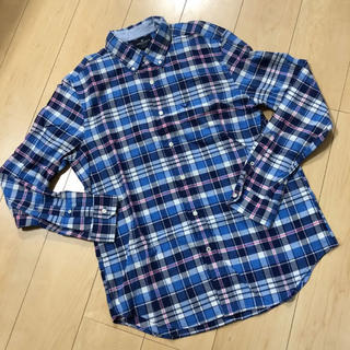 アメリカンイーグル(American Eagle)の新品 アメリカン イーグル チェックシャツ L(シャツ)