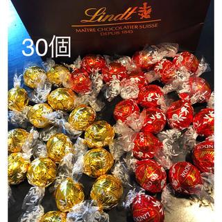 リンツ(Lindt)のまいこ様専用 リンドール  チョコレート 60個(菓子/デザート)