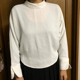 アーバンリサーチ(URBAN RESEARCH)のALINE ドルマンスリーブ  ホワイトシャツ 確認用(シャツ/ブラウス(長袖/七分))