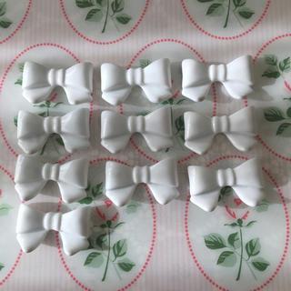 陶器 リボン型箸置き(テーブル用品)