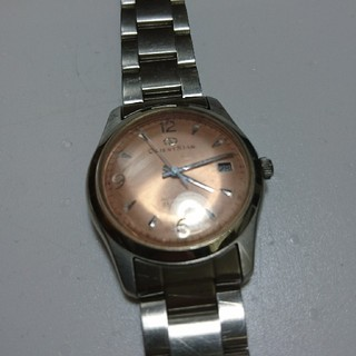 オリエント(ORIENT)のオリエント  ORIENT STAR  自動巻き ピンク文字盤(腕時計)