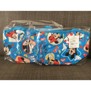ディズニー(Disney)の【新品・未開封】ディズニー ミッキー&ミニー 保冷 ランチバッグ(弁当用品)