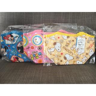 ディズニー(Disney)の【新品・未開封】ミッキー&ミニー ツムツム スヌーピー 保冷ランチバッグ(弁当用品)