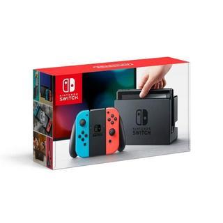 ニンテンドースイッチ(Nintendo Switch)の◆新品未開封◆Nintendo Switch本体◆ネオンブルー/ネオンレッド◆(家庭用ゲーム本体)