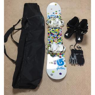 バートン(BURTON)のスノーボード  5点セット バートン(ボード)