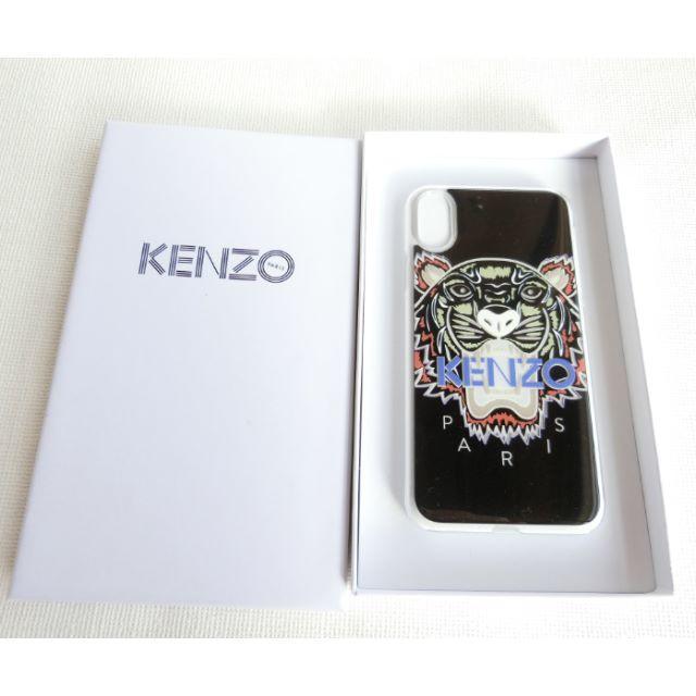 KENZO - [新品☆正規品]KENZO iPhone X ケース シリコン ブラックの通販 by シェアリー♡'s shop|ケンゾーならラクマ