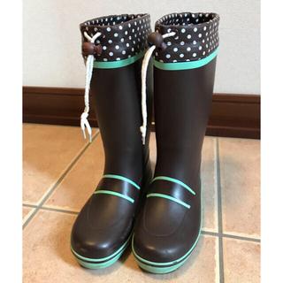 サミー(Sammy)のレインブーツ 20cm チョコミントカラー 長靴 女の子 SAMMY 送料無料(長靴/レインシューズ)