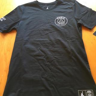 ナイキ(NIKE)のJORDAN PSG Tシャツ カットソー パリ・サンジェルマン ジョーダン(Tシャツ/カットソー(半袖/袖なし))