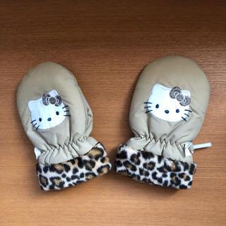 ハローキティ(ハローキティ)のハローキティ  手袋  15㎝  5〜6才(手袋)