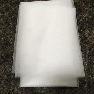 新品 ソフトチュール 白 2m(ウェルカムボード)
