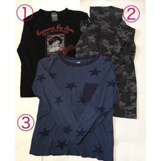 エイチアンドエム(H&M)のロンT セット 120(Tシャツ/カットソー)