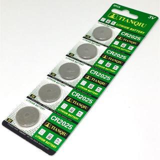 CR2025 リチウムボタン電池 5個/1シート(その他)