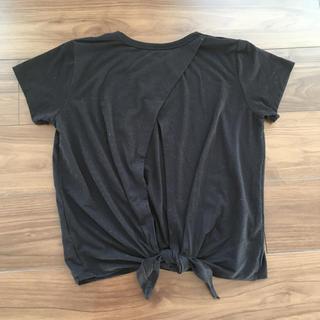 ジーユー(GU)のGUSPORTS Tシャツ トレーニングウエア(ウェア)