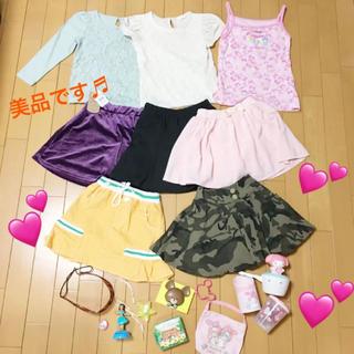 ジーユー(GU)の子供服 まとめ売り 女の子 110中心 ブランドあり おもちゃセット コーデ(その他)