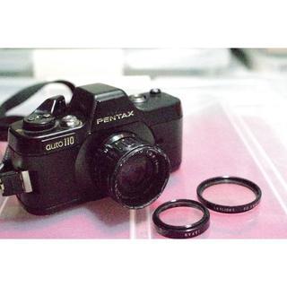 ペンタックス(PENTAX)のPENTAX Auto110 1:2.8 18mm 保護フィルター付(フィルムカメラ)