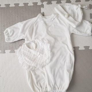 新生児セレモニードレス3点セット(セレモニードレス/スーツ)
