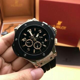 ウブロ(HUBLOT)の美品 HUBLOT 時計 ウブロ HUBLOT メンズ 腕時計 自動巻き  (腕時計(アナログ))