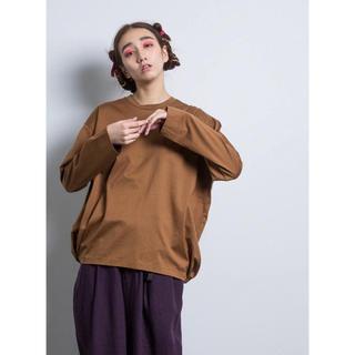 ドゥルカマラ(Dulcamara)のDULCAMARAバルーンロンT ドゥルカマラ コート ニット パンツ (Tシャツ/カットソー(七分/長袖))