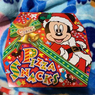 ディズニー(Disney)のピザ  ディズニー  お菓子  コーンスナック  未開封 ミッキー クリスマス(菓子/デザート)
