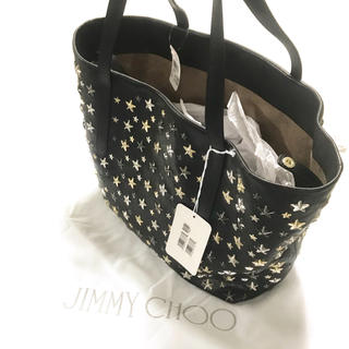 JIMMY CHOO - 正規品 JIMMY CHOO ジミーチュウ トートバッグ ソフィア L ブラック