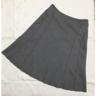 クレージュ(Courreges)の❤︎クレージュ❤︎ スカート 毛 100% 40号(ひざ丈スカート)