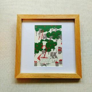 スドウピウ(リンゴジャム)アートポスター インテリアアート 額縁 フォトフレーム(ウェルカムボード)