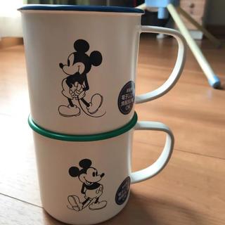 ディズニー(Disney)のディズニー ホーロー風マグ(グラス/カップ)