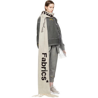 a cold wall plastic fabrics マフラー (マフラー)