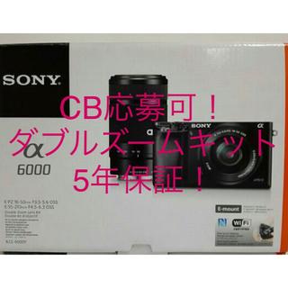 SONY - ソニー α6000 ブラック ダブルズームキット ILCE-6000Y