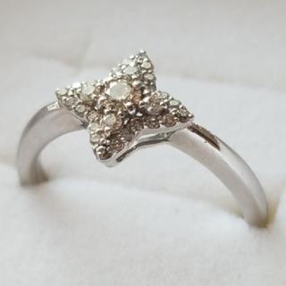 ジュエリーツツミ(JEWELRY TSUTSUMI)の【鑑定書付】pt900 #12 ダイヤモンドリング(リング(指輪))