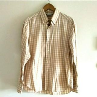 エディフィス(EDIFICE)の美品♪EDIFICE チェックシャツ(シャツ)