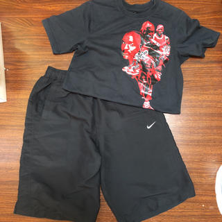 ナイキ(NIKE)のジョーダンTシャツ ナイキパンツセット(Tシャツ/カットソー(半袖/袖なし))