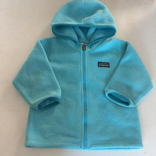 patagonia - パタゴニア baby12M フリース ライトブルー