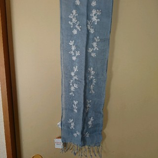 シマムラ(しまむら)の麻布 ストール 新品・未使用(ストール/パシュミナ)