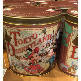 ディズニー(Disney)のディズニー チョコクランチ缶 ミッキー ミニー ドナルド デイジー(菓子/デザート)