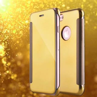 iPhone7 iPhone8 お洒落 ゴールド ゴージャス ミラー型 ケース(iPhoneケース)