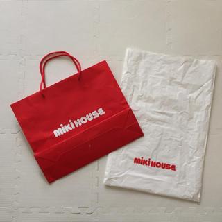 ミキハウス  紙袋  ビニール袋