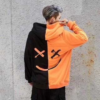 XL サイズ オレンジパーカー 即納(パーカー)