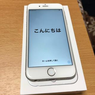 アップル(Apple)のiPhone6s 64GB silver 本体 (スマートフォン本体)
