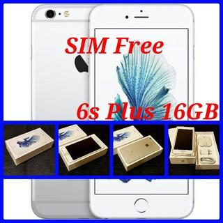 アップル(Apple)の【SIMフリー/新品未使用】iPhone6s Plus 16GB/シルバー/判○(スマートフォン本体)