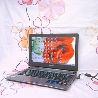 エイスース(ASUS)の【小型】 webカメラ/HDD250GB/メモリ4GB/Office/win10(ノートPC)