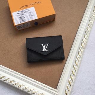 美品 LOUIS VUITTON 財布 黒(折り財布)