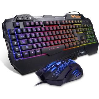 【新品未使用】ゲーミングキーボード&マウスセット(PC周辺機器)